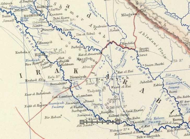 Tigris River World Map | Best | Free |