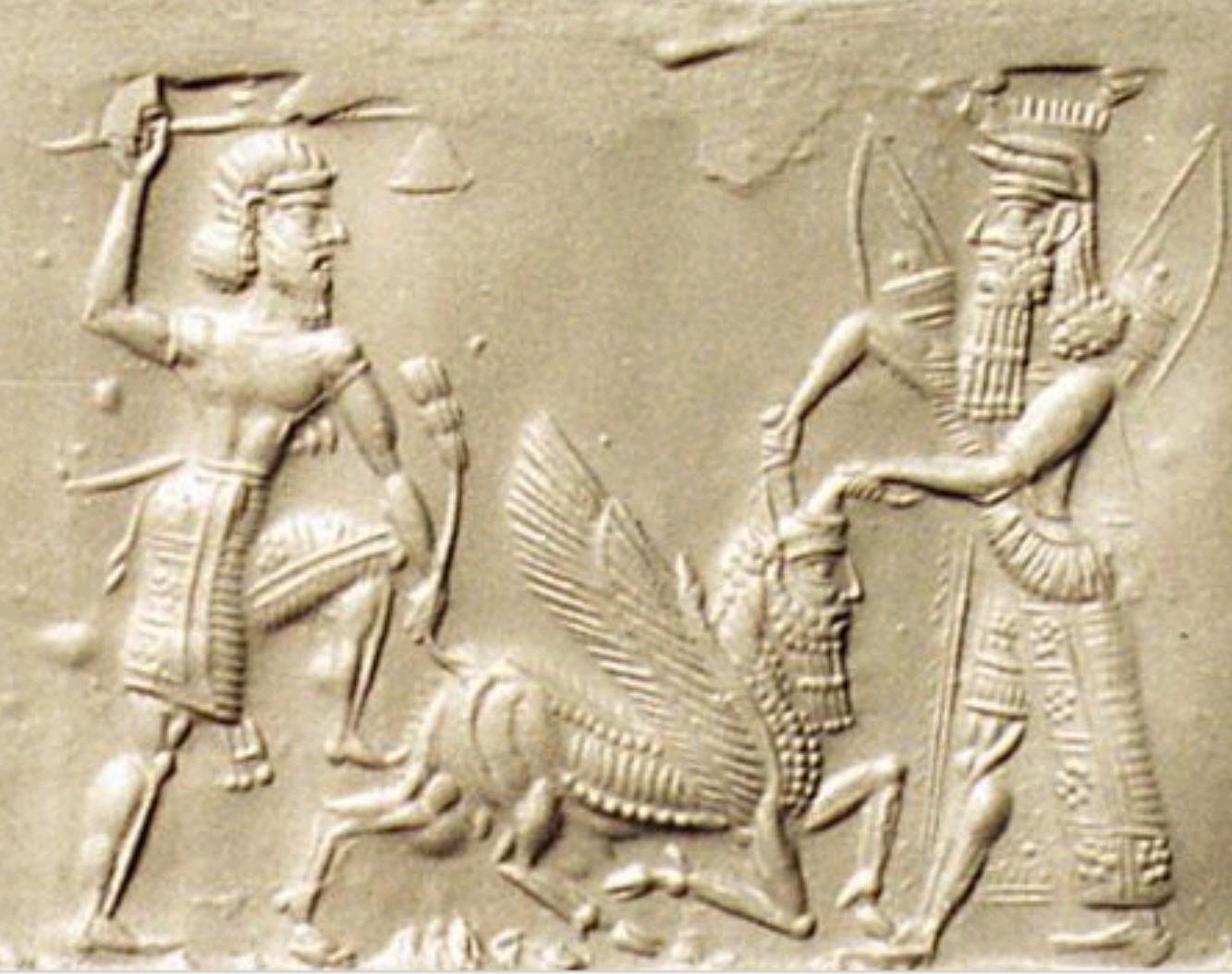 Epic Of Gilgamesh Vs Book Of Genesis Mgorkacom GilgaBull Paper