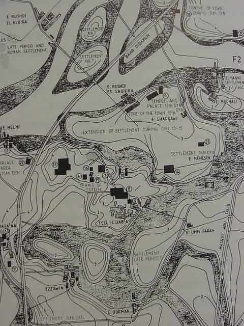 RamesesMapAvaris - Map of egypt during ramses
